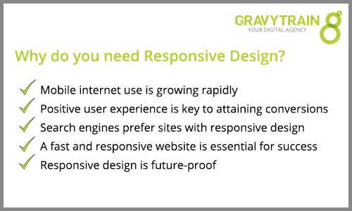 Why you need responsive design
