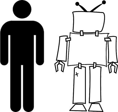 Image of User and Robot