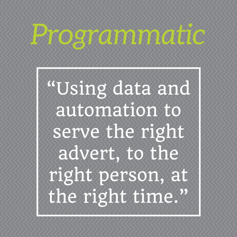 """""""Using data and automation to serve the"""