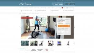 JTX Fitness Desktop Product Page