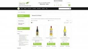 SA Wines Category Page
