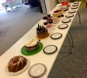 The 2016 Contestants for the Gravytrain Bake Off