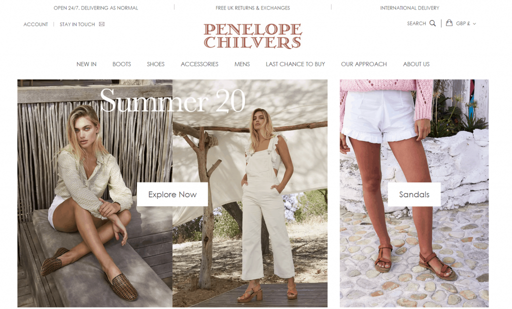 Penelope Chilvers homepage